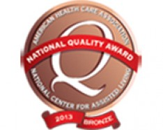 Issaquah Nursing & Rehabilitation Receives Bronze Award for Outstanding Quality Care