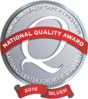 Silver Award for Outstanding Quality Care